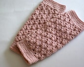 Newborn Leg Warmers, Baby Leg Warmers, Crochet Leg Warmers for Girl, Baby Girl Leg Warmers Crochet, Pink Leg Warmers