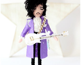 Prince art doll - Speciality doll - Musician collection - Limited Collection