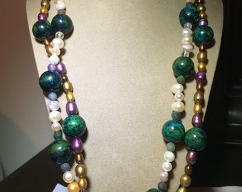 The layer necklace