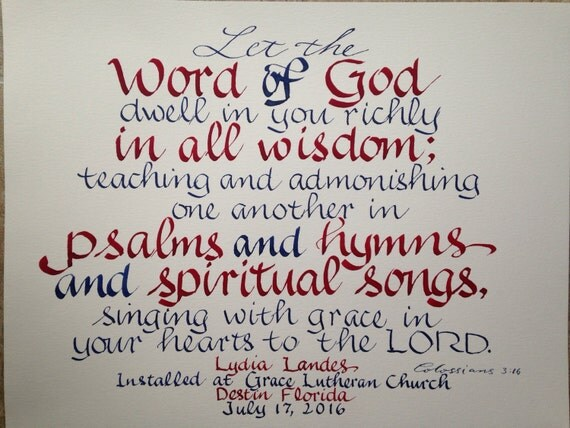 Religious wall art music minister gift worship leader gift like this item negle Gallery