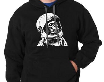 Astronaut Hoodie Space Hooded Sweatshirt Monkey Sweater