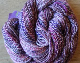 SUNRISE merino silk handspun yarn 185 yards