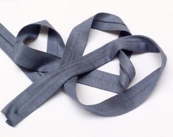 Jersey-bias binding light grey