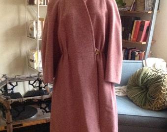 Pink Wool Emmanuelle Khanh Paris Coat Small/Medium