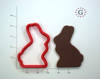 Chocolate Bunny Cookie Cutter