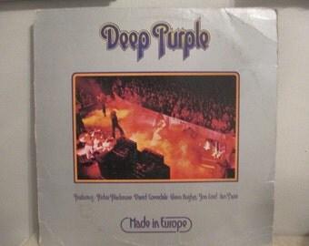 Deep Purple Album    Made in Europe