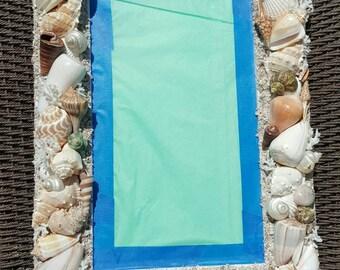 Natural Seashell Mirror