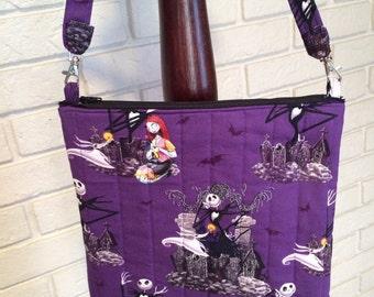 Nightmare Before Christmas cross body purse