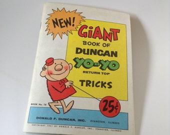Duncan Yo-Yo Tricks Book