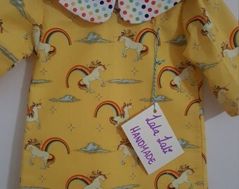 Unicorns and rainbows A-line dress