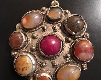Vintage Stone Pendant