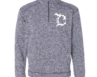 Michigan D 1/4 Zip Fleece Pullover
