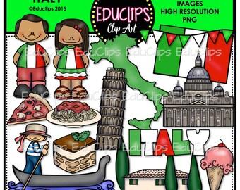 Italy Clip Art Bundle