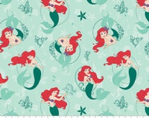 Disney Princess Ariel The Little Mermaid by Camelot Fabric