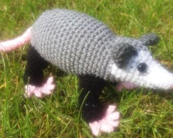 Amigurumi Opossum Crochet Pattern