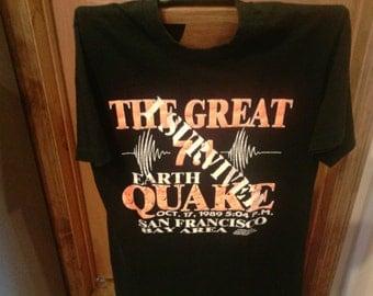 Vintage San Francisco Earthquake T-Shirt