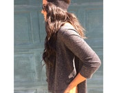 Thin Lace Stretch Headbands for Women and Girls- Black