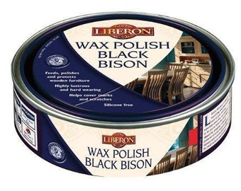 Liberon Black Bison Wax Polish-Feed, Polish, Protect-Tudor Oak, Walnut, 500ml
