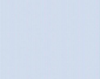 Blue Mini Stripe Fabric