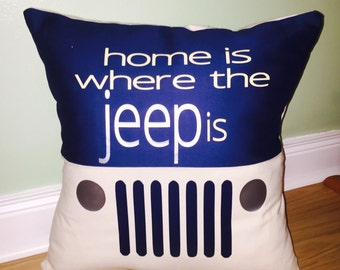 Jeep Pillow Slip Cover