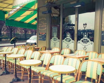 Paris Photography - Fine Art Photography - Paris Photography Print - Paris Decor - Cafe Chairs - Wall Art - Art Print - Home Decor