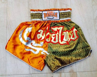 Muay Thai Boxing Shorts - Orange