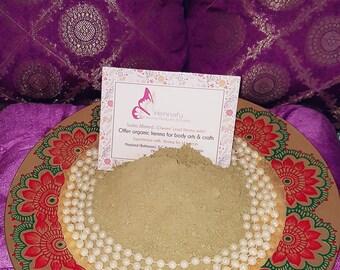 Henna Powder: Body Art quality organic henna (2016 Crop)