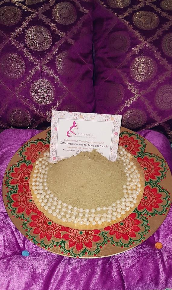 Mehndi Body Art Quality Henna : Henna powder body art quality organic crop
