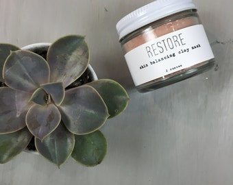 Restore - Pink Clay Mask