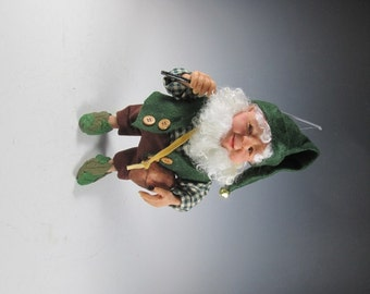 Elf Doll, Fantasy Doll, Fairy, Polymer Elf, Handmade Elf, OOAK Elf, Brownie, Fantasy Art Doll