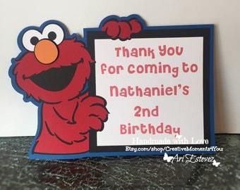 Sesame Street Elmo Sign/Door hanging