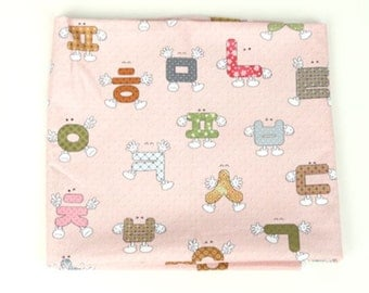 Cotton Fabric Pink By The Yard