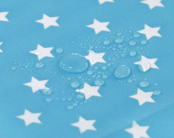 Waterproof Cotton Polyester Fabric Star Sky By The Yard