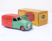 Dinky Car 470 Boxed Shell BP Dinky Toys Meccano Collector Gift For Him Green Red