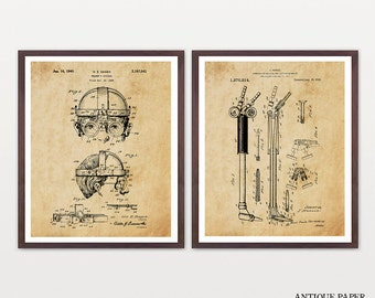 Welding Art - Welding Patent Poster - Welding Goggles - Welding Torch - Contractor - Construction - Mechanic - Welding Patent - Steampunk