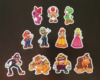 Mario and Friends Magnets - Nintendo Characters
