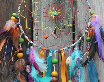 Medium Tie Dye Spirit Dream Catcher