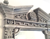 LARGE WALL MIRROR, Restoration Hardware Style Ornate French Provincial Bedroom Dressing Mirror