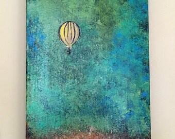 Abstract Hot Air Balloon