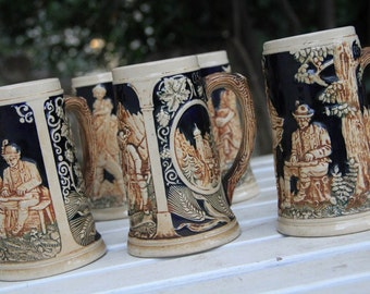 Beer steins collection for 1950