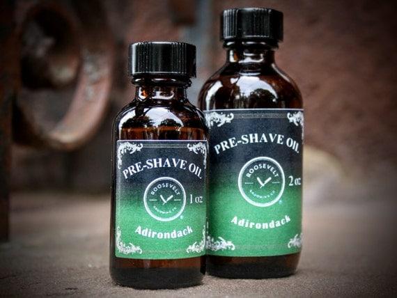 Pre-Shave Oil - Adirondack (A Robust, Pine Scent)