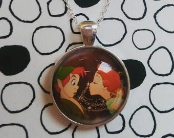Disney Peter Pan Pendant Necklace Neverland