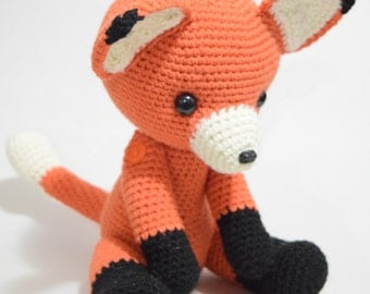 Fox Sweet  Amigurumi Crochet