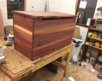 Toy box, children's toy box, cedar chest, toy chest, wooden chest, blanket box, hope chest, storage chest,