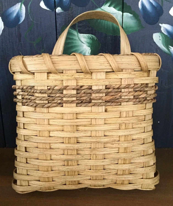 handmade basket mail basket wall basket flower basket made. Black Bedroom Furniture Sets. Home Design Ideas