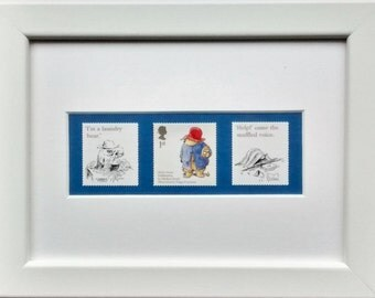 Paddington Bear Smiler 1 framed stamps 2006