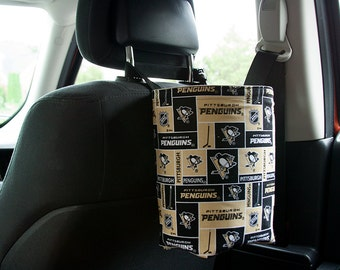 Car Organizer Hockey Trash Bag Pittsburgh Penguins Ready To Ship