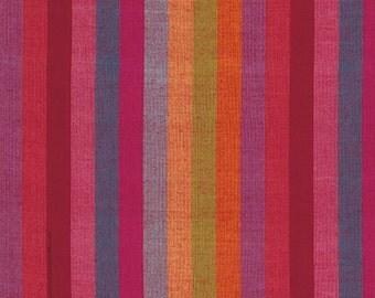 1/2 yard of Kaffe Fassett Broad Stripe Watermelon  Fabric