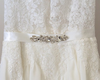 CARLY | Bridal Sash, Wedding Sash, Bridal Belt, Wedding Belt, Bridal accessories