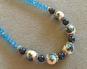 Japanese Tensha Bead Necklace